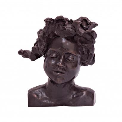 La Chipie Bronze 22x20x16cm