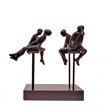 The 4 Sisters Bronze 40x28x20cm