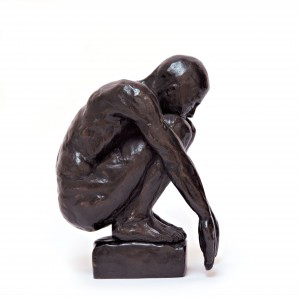 Think Bronze 21x22x17cm