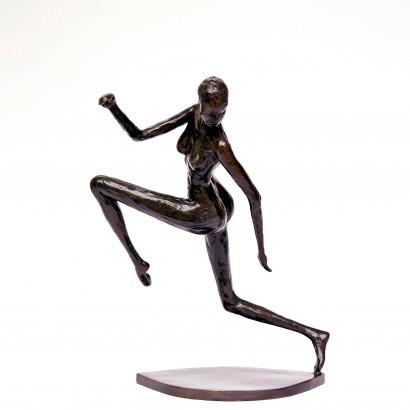 La Gazelle Bronze 28x26x18cm